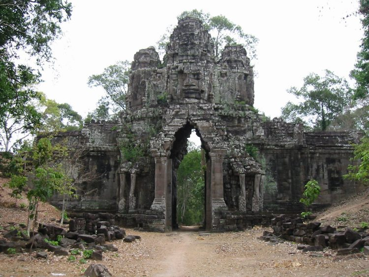 East Gate: Gate of the dead - Angkor Thom Gates