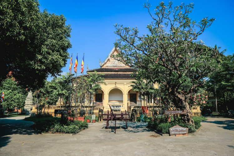 Wat Damnak Library and Garden