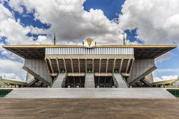 Olympic Stadium - Architectures in Phnom Penh
