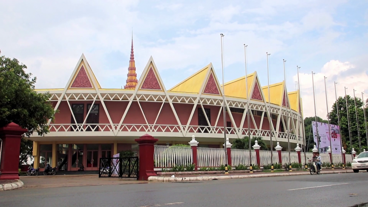 Chaktomuk Conference Hall - Architectures in Phnom Penh