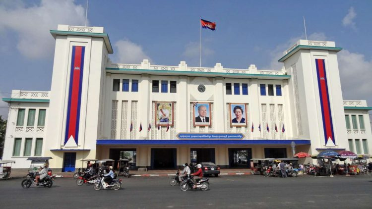 Train Square cambodia - Architectures in Phnom Penh