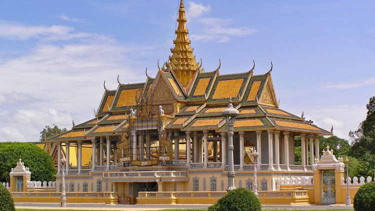 Royal Palace - Architectures in Phnom Penh