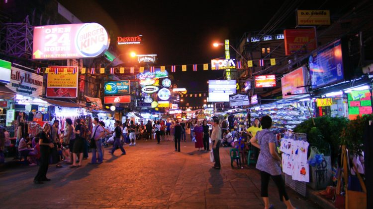 Take in the Sights, Sounds and Smells at Khao San Road