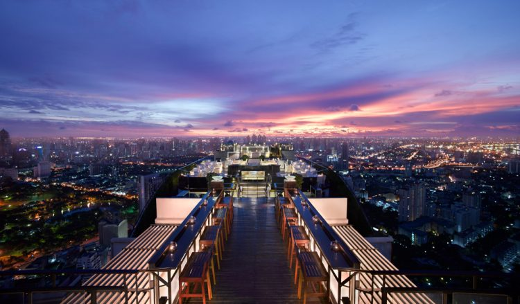 Catch Bedazzling Views from Rooftop Bars