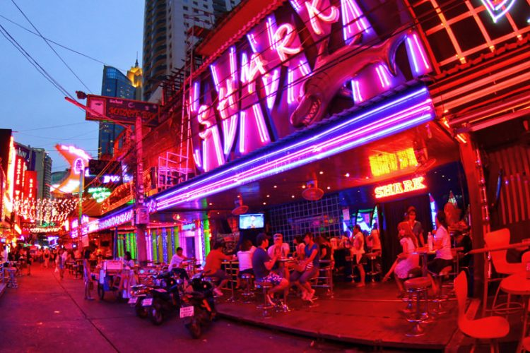 Embrace the Nightlights at Soi Cowboy