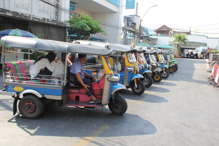 Blaze Through Bangkok on a Tuk Tuk