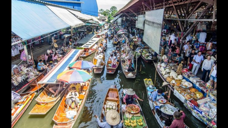 Experience the Local Life at Floating Markets - Things to Do in Bangkok