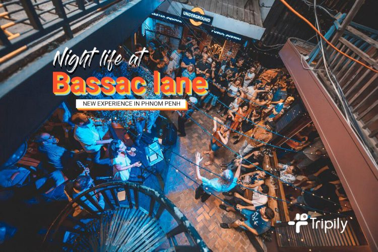 Nightlife at Bassac Lane | New Experience in Phnom Penh