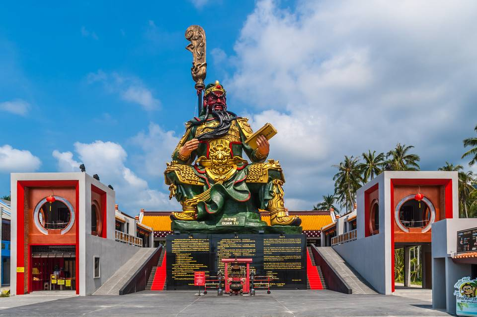 Visit the Shrine of Guan Yu - Things to Do in Koh Samui