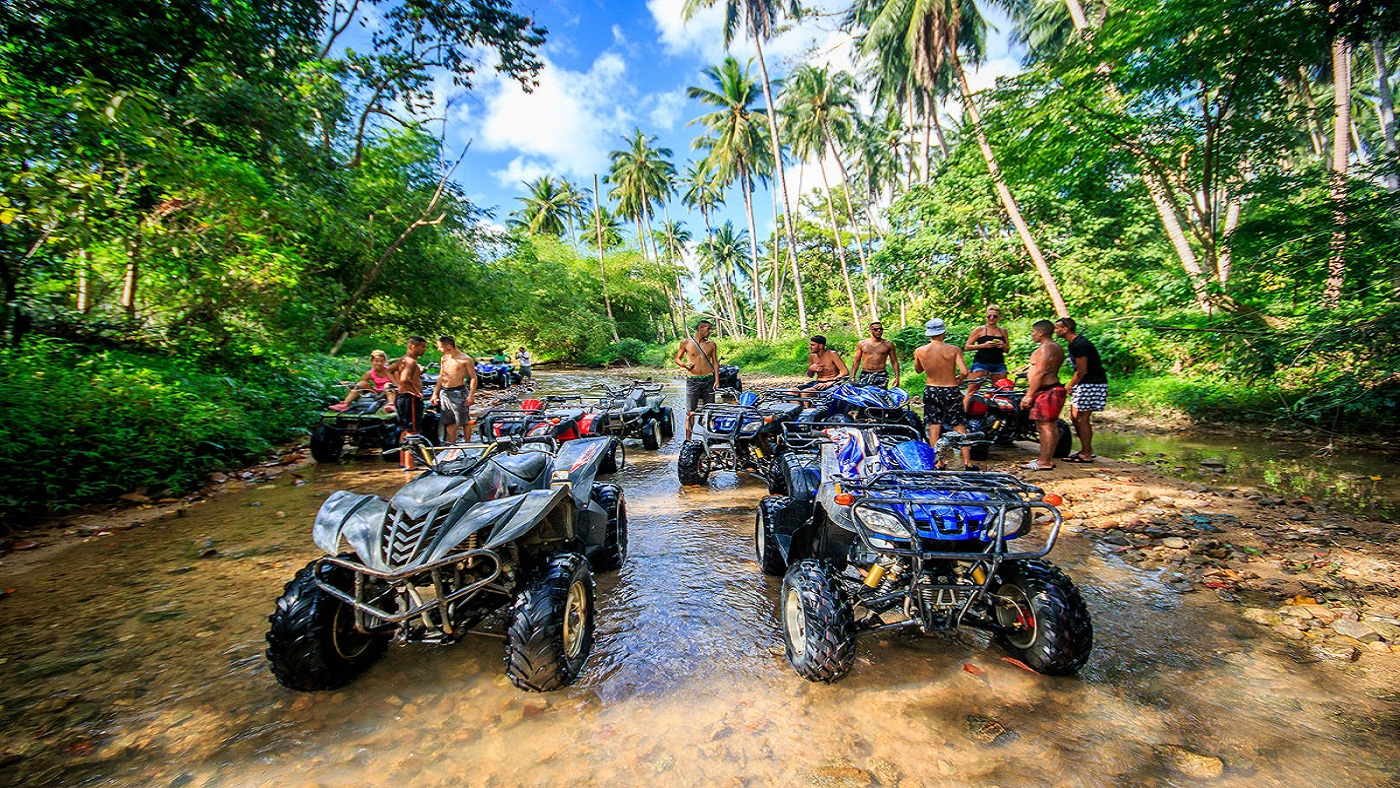 Take a quad-bike ride through the coast - Things to Do in Koh Samui
