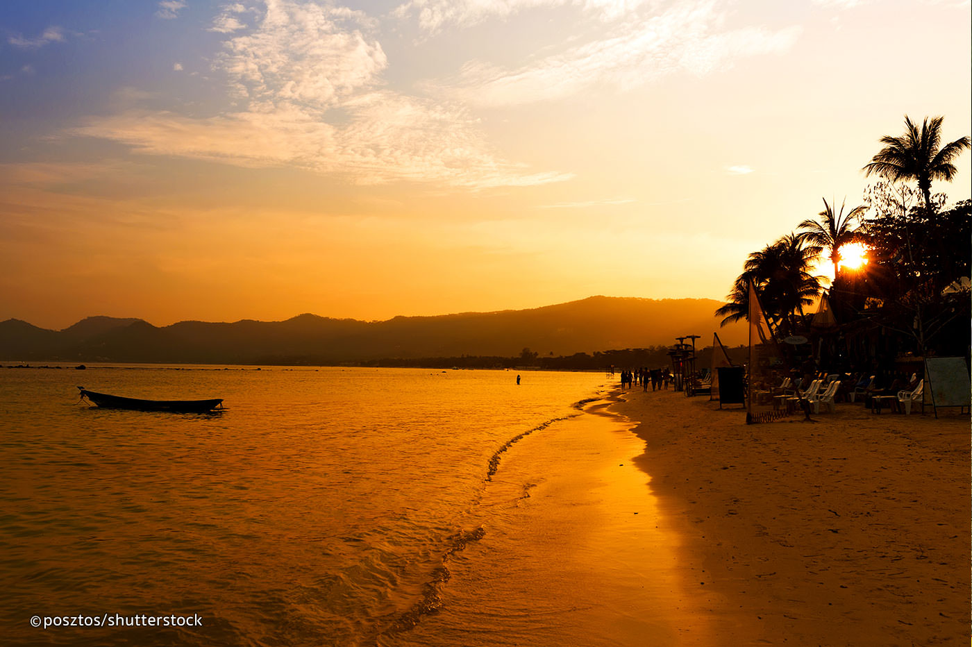 Samui sunset at the beach - Things to Do in Koh Samui