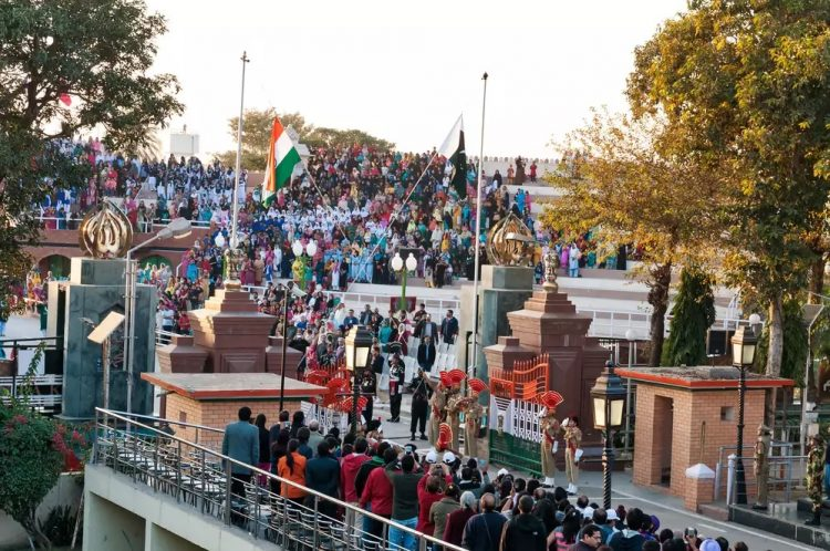 Wagah Border - Places to Visit in Punjab