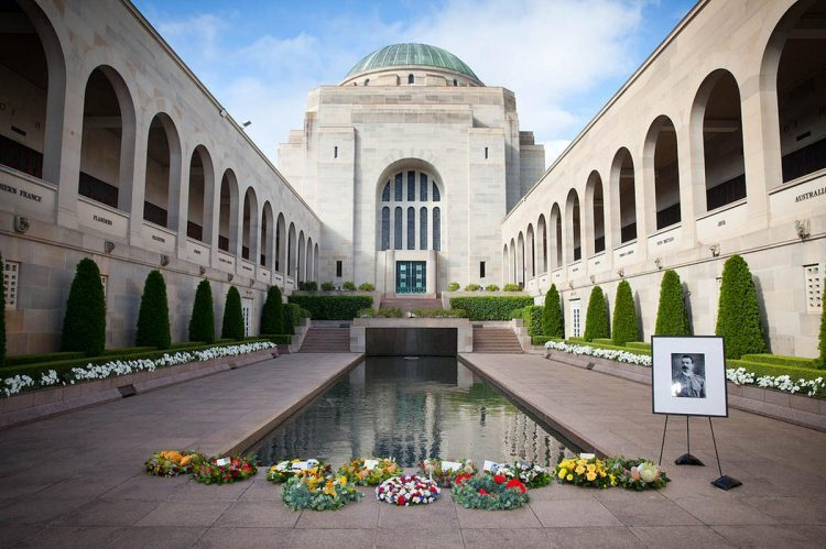 Absorb History at the War Memorial