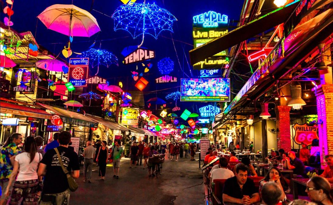 Tips to entertain your night in Pub Street Siem Reap