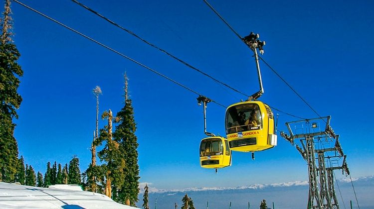 Indulge in a Cable Car ride