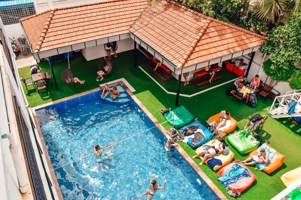 Mad Monkey Siem Reap_Top Picked Siem Reap Hostels for Backpackers and Budget Travelers