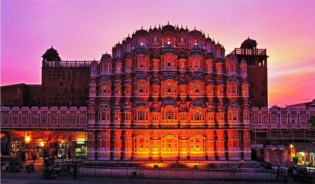 Hawa Mahal, Jaipur - Most Beautiful Places in India