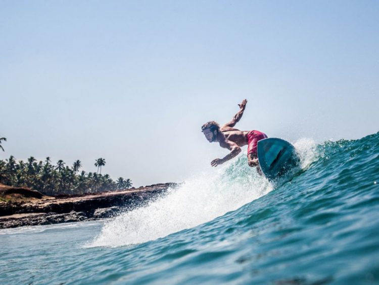 Surf the Kovalam Waters