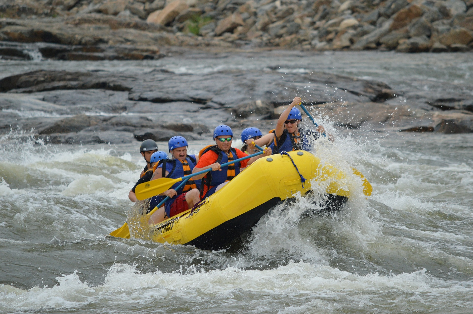 Partake in extreme Whitewater rafting