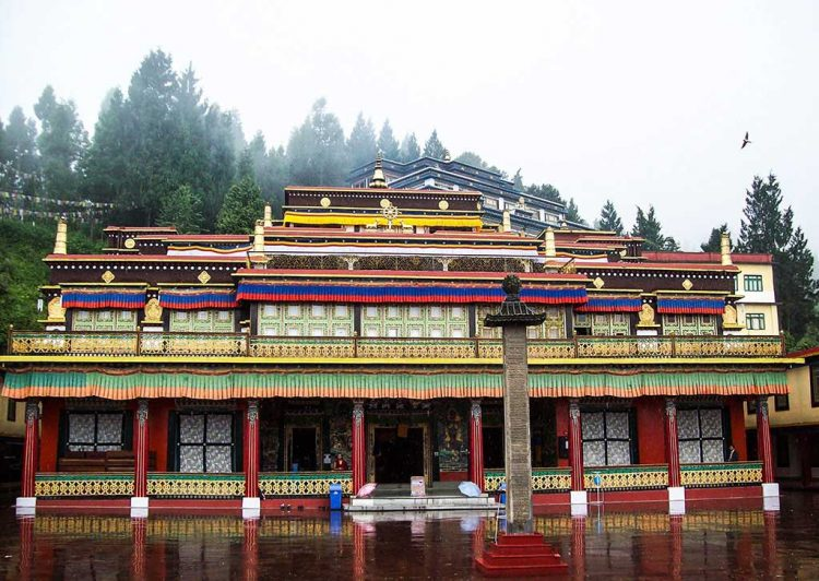 Expedition at Rumtek Monastery