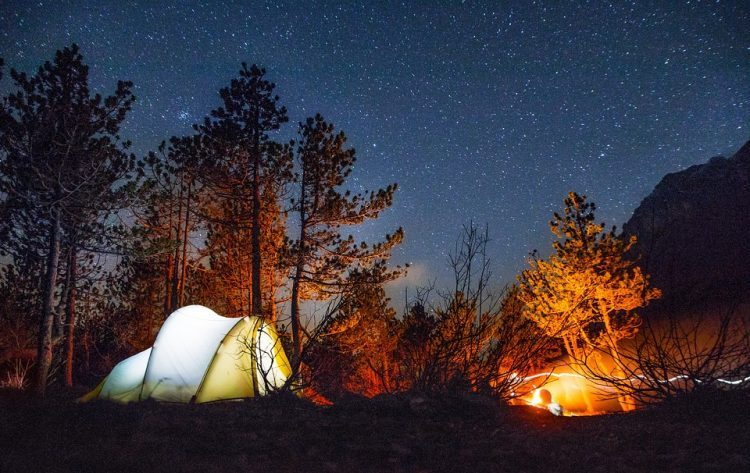 Camp under the Blanket of Stars