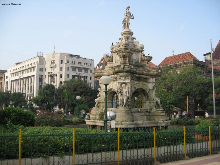 Flora Fountain - Places to Visit in Mumbai