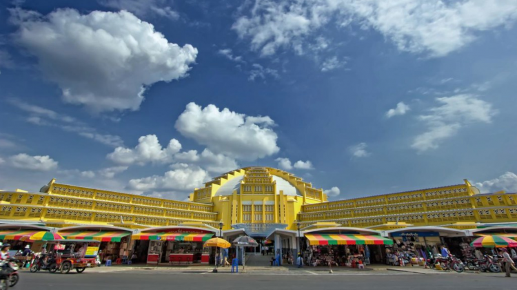 Central Market of Phnom Penh