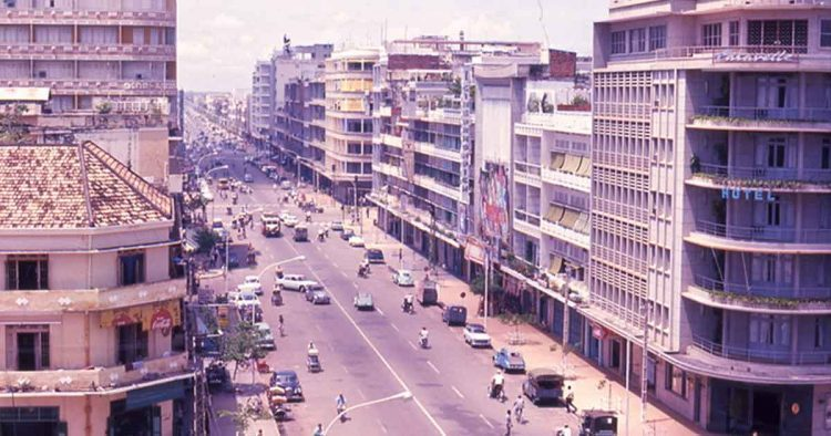Phnom Penh Before and After the Civil War