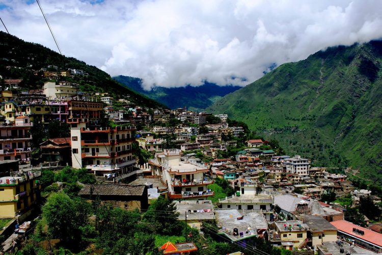 The hill town of Joshimath