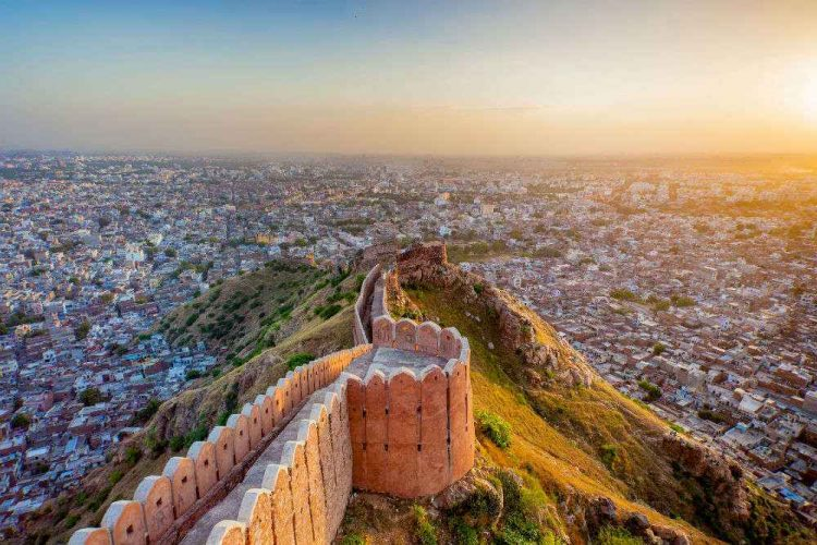 Cycling to Nahargarh fort - Things to Do in Jaipur, India