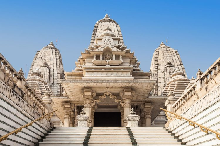 Admire the beautiful Birla Mandir - Things to Do in Jaipur, India