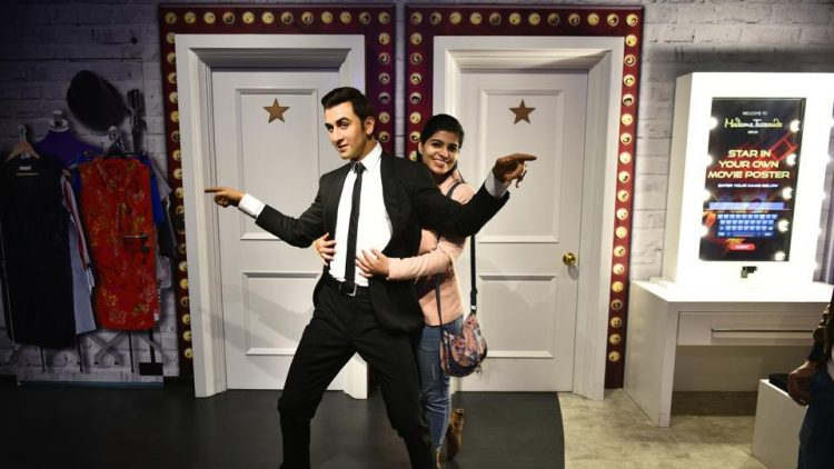 Pose at the Wax museum