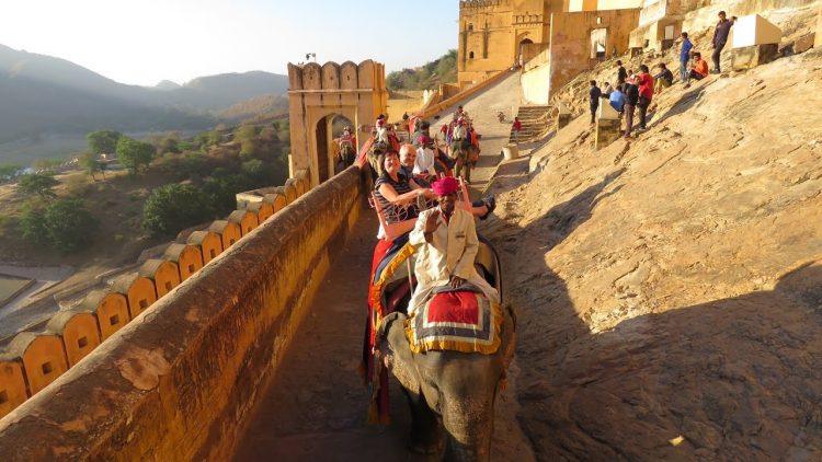 Elephant ride at Amer fort - Things to Do in Jaipur, India