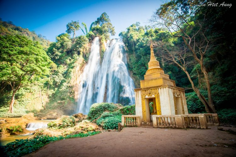 Dat Taw Gyaint Waterfall- Things to Do in Myanmar