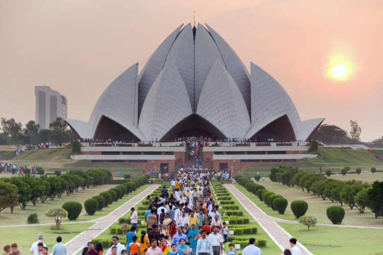 Lotus Temple - Places to Visit in Delhi