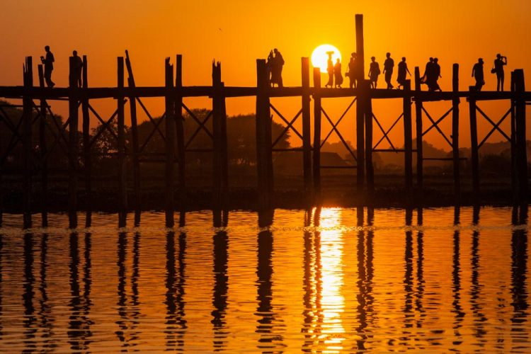 U Bein Bridge - Things to Do in Myanmar