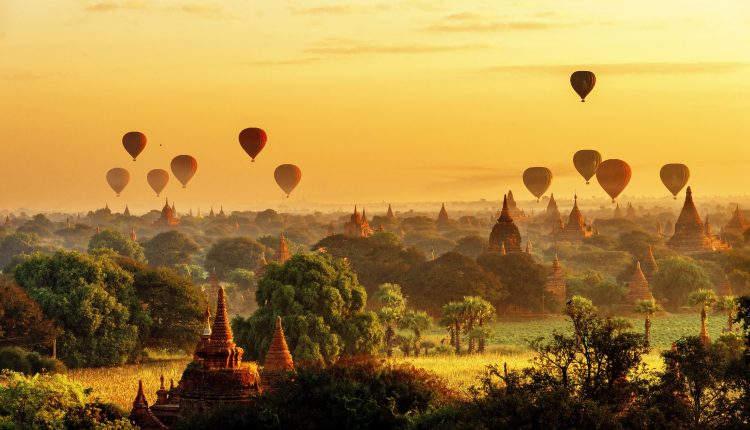 Take a Balloon Ride over Bagan