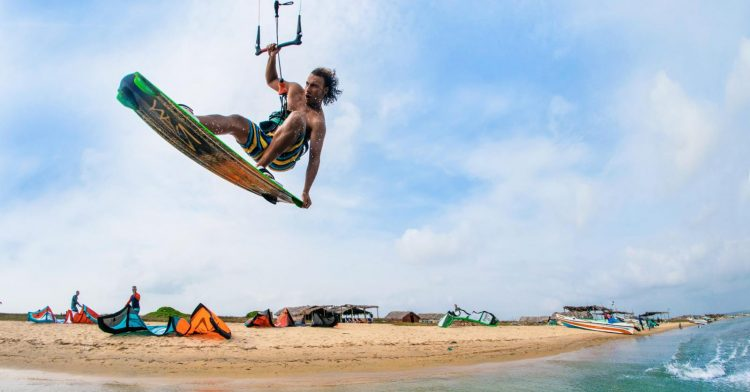 Try Kite Surfing