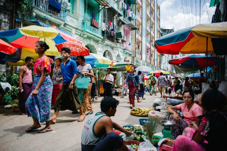 Markets of Yangon