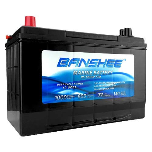 Banshee Deep Cycle Marine Battery