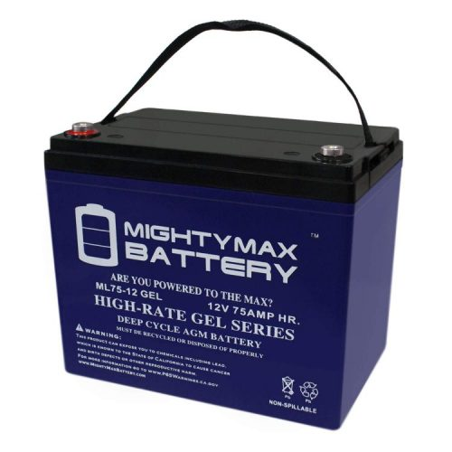 Mighty Max Deep Cycle Marine Battery - Deep Cycle Marine Batteries