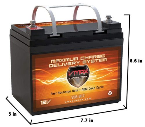 VMAXTANKS Deep Cycle Marine Battery