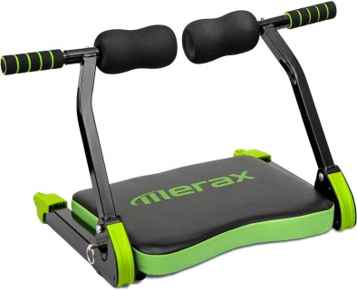Merax Abdominal Exercise Trainer AB Fitness Machine Total Body Workout