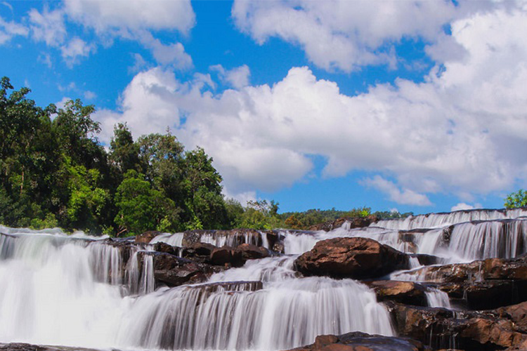 Tatai Waterfall in Koh Kong, Cambodia