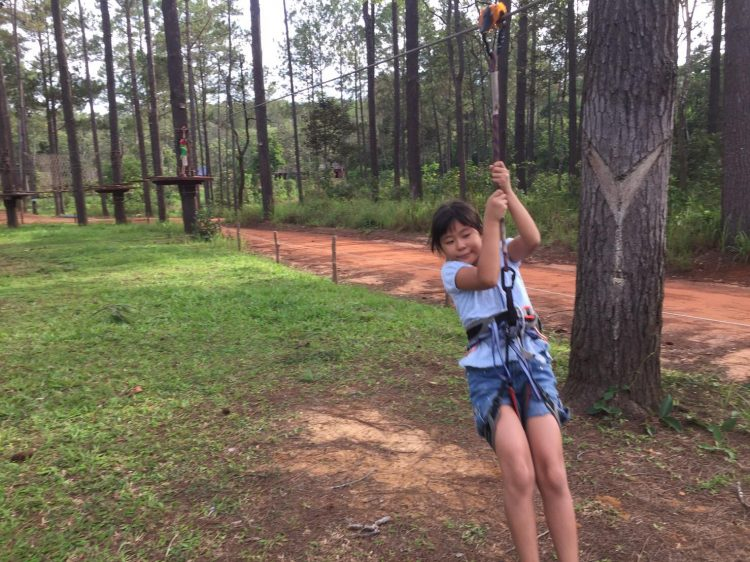 Kids Mini Zipline