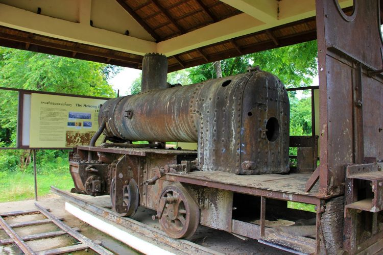 Old French Railroad Locomotive
