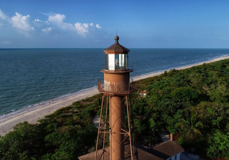 The Beauty Of Sanibel Island Lighthouse