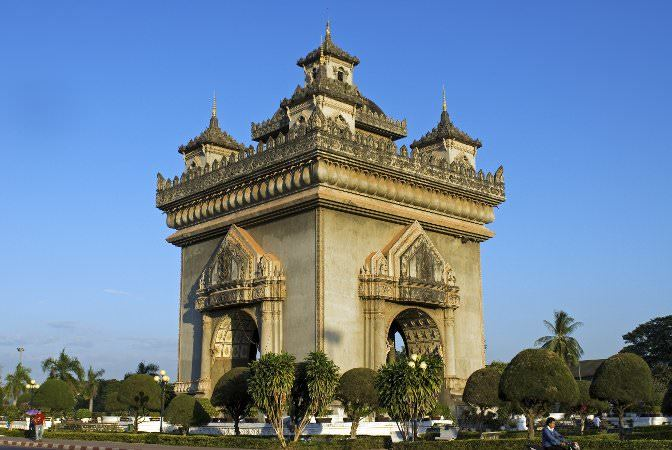 The Patuxai Victory Monument