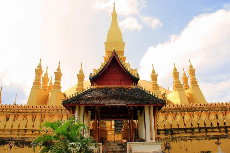 The historic Pha That Luang
