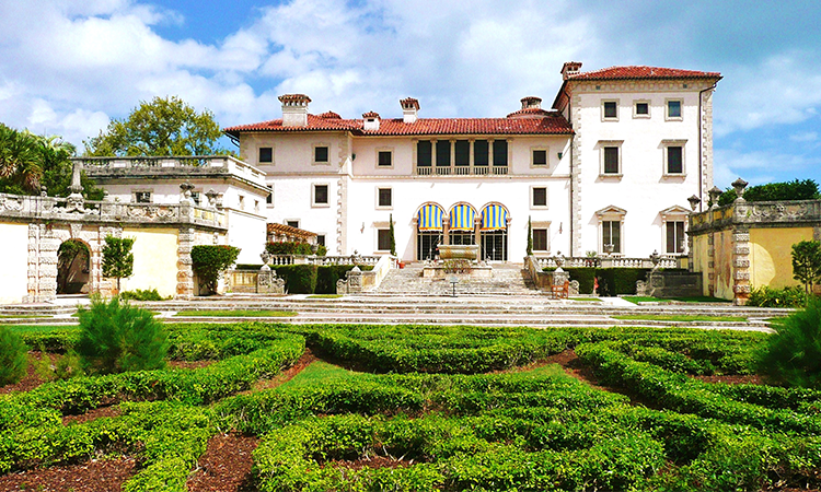 The Vizcaya Museum and Gardens